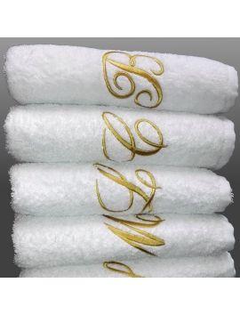Alfa White - Asciugamani personalizzati