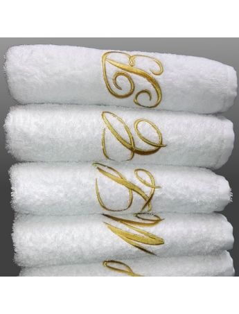 Alfa White - Telo doccia personalizzato